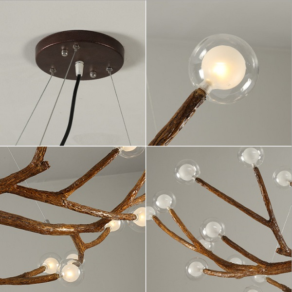CG028 Tree Branch Chandelier