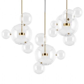 PG015 Bubble Glass Pendant Lamp