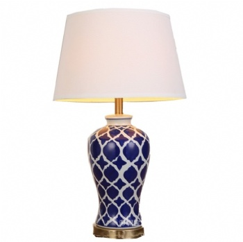 TF026 Hand Painted Blue And White China Table Lamp