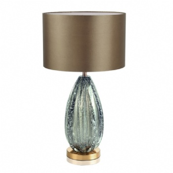 TF024 Green Colored Glaze Table Lamp