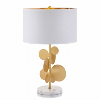 TF013 Golden Leaf Table Lamp