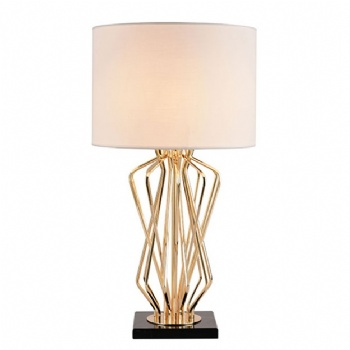TF004 Marble Base Metal Table Lamp