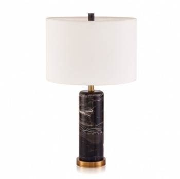 Black Rose Marble Table Lamp A169