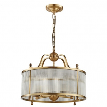 CG012 Copper Glass Chandelier