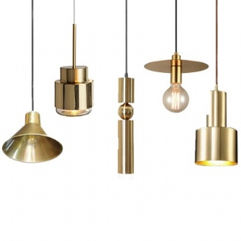 PM017 Brass Pendant Lamp