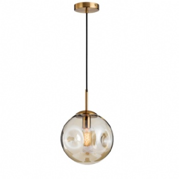 Concave-convex Glass Ball Pendant Lamp
