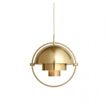 PM016 Hemispherical Iron Pendant Lamp