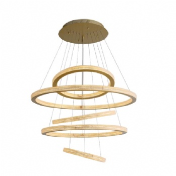 CP006 Acrylic Ring Chandelier